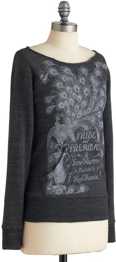 Out of Print Novel Tee Sweatshirt in Elizabeth