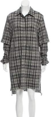 Public School Wool Mini Dress