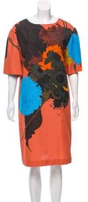 Dries Van Noten Floral Shift Dress w/ Tags