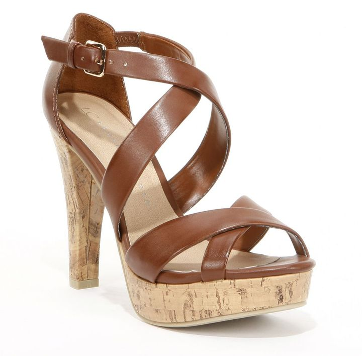 Lauren Conrad platform high heels - women
