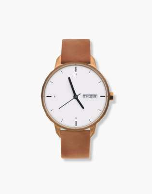 Madewell Tinker 42mm Copper-Toned Watch