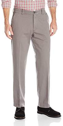 Izod Men's Chino 3.0 Flat Front Straight Fit Pant