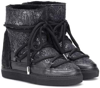 Inuikii Burret Sneaker metallic boot