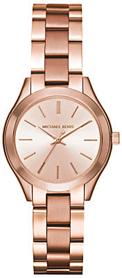 Michael Kors Women's Mini Slim Runway Bracelet Strap Watch