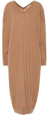 Stella McCartney Wool and alpaca sweater dress