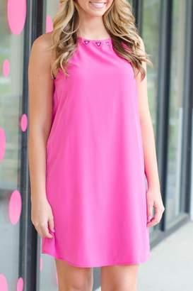 Honey Punch Pink Courtney Dress