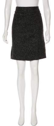 Adrienne Vittadini Metallic Woven Skirt