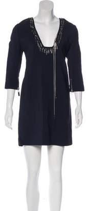 Thomas Wylde Embellished Mini Dress w/ Tags