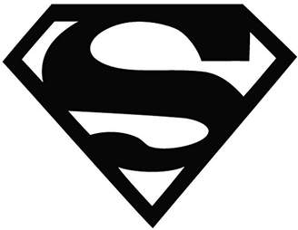 Leon Online Box Superman Logo - Movie Decal Vinyl Car Wall Laptop Cellphone Sticker