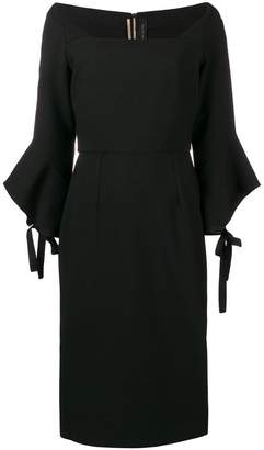 Roland Mouret flared sleeve dress