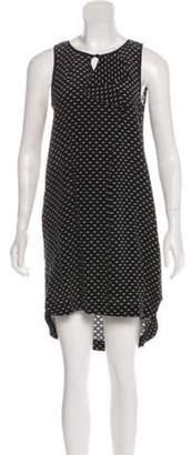Marc by Marc Jacobs Silk Sleeveless Dress Navy Silk Sleeveless Dress