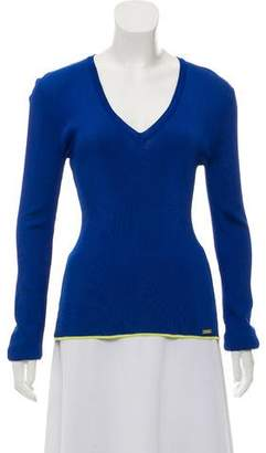 Just Cavalli Long Sleeve Casual Top