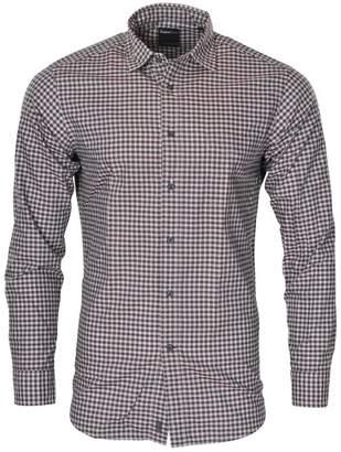 Zegna Sport Shirt Men's White Cotton Regular Fit Casual Shirt Business M
