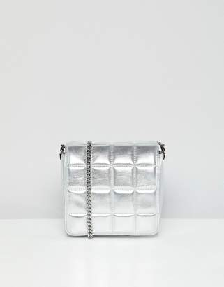 French Connection Rae Mini Metallic Bag