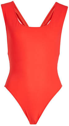 Araks Jireh Swimsuit with Cut-Out Back