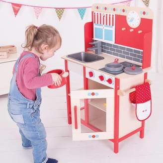 TheLittleBoysRoom Wooden Kitchen Themed Play Set