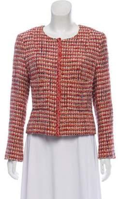 Chanel Tweed Zip Jacet