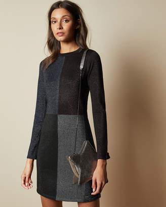 Ted Baker REDLO Knitted colour block dress