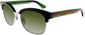 Gucci Men's Polarized GG0056S-002-54 Square Sunglasses