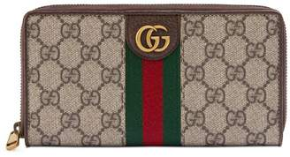 Gucci Zip around wallet with Three Little Pigs