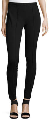 Lafayette 148 New York Pintucked Skinny Pants, Plus Size