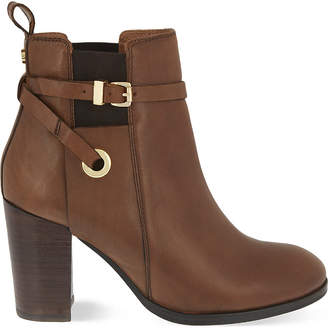 Carvela Stacey leather heeled ankle boots