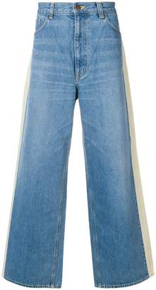 Facetasm Wide denim pants