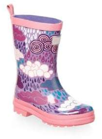 Hatley Baby's& Little Girl's Stormy Days Rain Boots