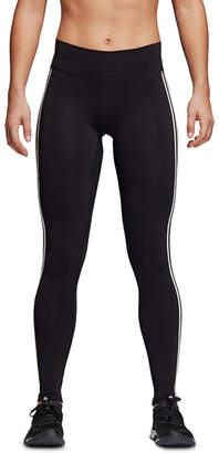 adidas Believe This Solid Three Stripes Long Tight Legging