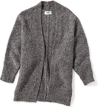 Old Navy Marled Open-Front Cocoon Cardi for Girls