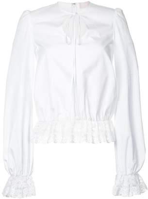Giamba lace detail blouse