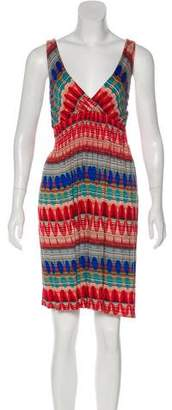 Needle & Thread Patterned Knee-Length Dress