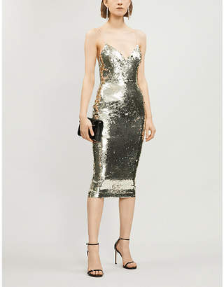 Alex Perry Eva sequinned dress