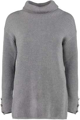 Max Mara Fattore Turtleneck Virgin-wool Pullover