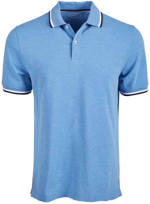 Club Room Men Regular- Fit Stretch Bulldog Sleeve-Logo Polo