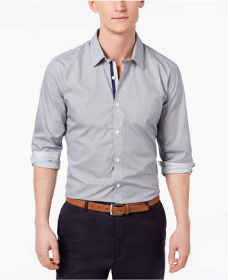 Ryan Seacrest Distinction Men's Slim-Fit Geo-Print Shirt, Created for Macy's