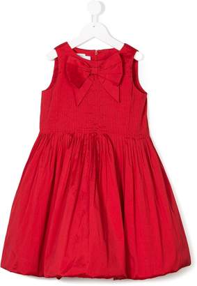 Oscar de la Renta Kids bow embellished dress