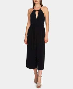 1 STATE 1.State 1.state Cropped Wide-Leg Halter Jumpsuit