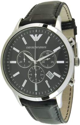 Emporio Armani Men's Quartz Watch AR2447 with Leather Strap