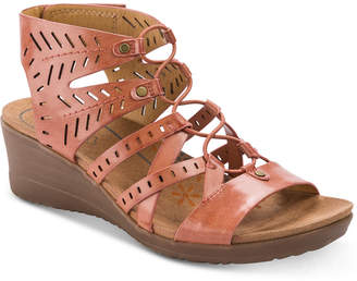 Bare Traps Baretraps Tiffany Gladiator Wedge Sandals Women's Shoes