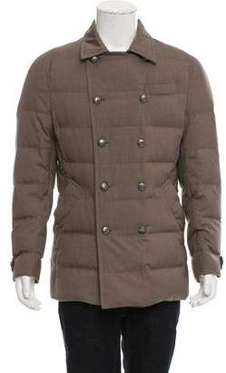 Brunello Cucinelli Wool & Silk-Blend Jacket w/ Tags