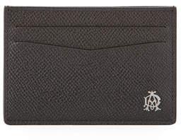 Dunhill Cadogan Simple Card Case, Black