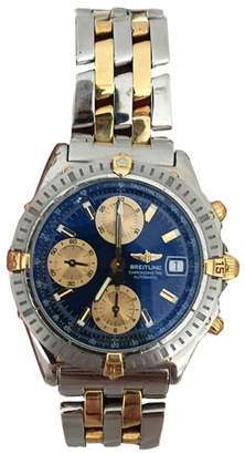 Breitling Chronomat B13352 18K Gold & Stainless Steel 40mm Mens Watch $11,500 thestylecure.com