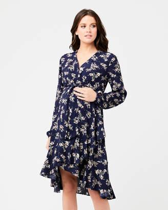 Ripe Maternity Juliette Tie Front Dress