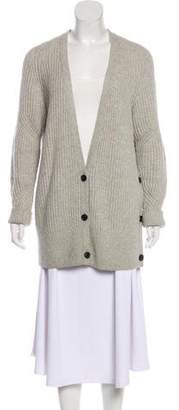 AllSaints Wool-Blend Knit Cardigan