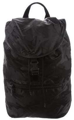 Valentino Nylon Camouflage Backpack