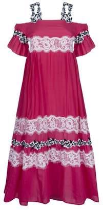 Pinko Off-The-Shoulder Maxi Dress