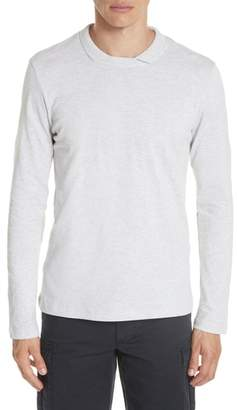 Eleventy Long Sleeve Polo Shirt