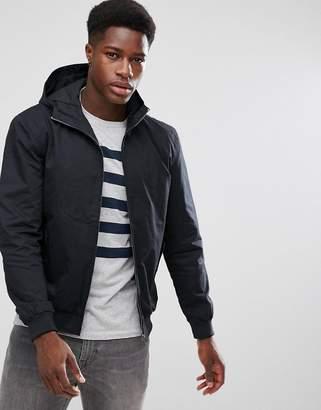 French Connection Hooded Harrington Jacket