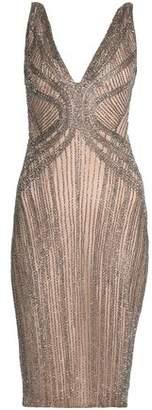 Rachel Gilbert Lyla Beaded Tulle Dress